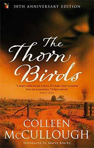 30 Essential Books About Love: The Thorn Birds by Colleen McCullough