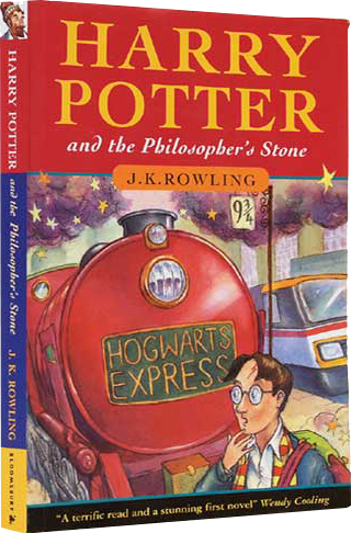 3 Harry Potter And The Philosophers Stone By JK Rowling