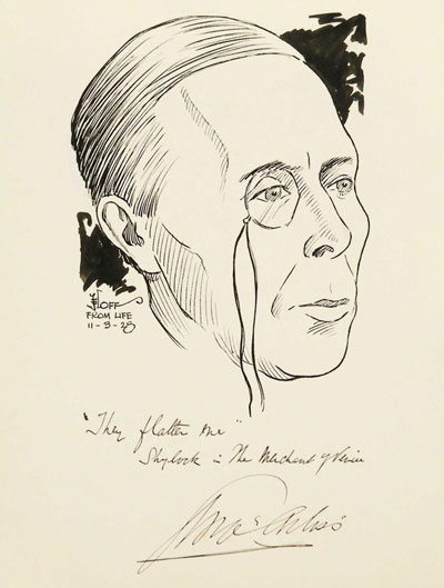 Portrait Art: Portrait of George Arliss