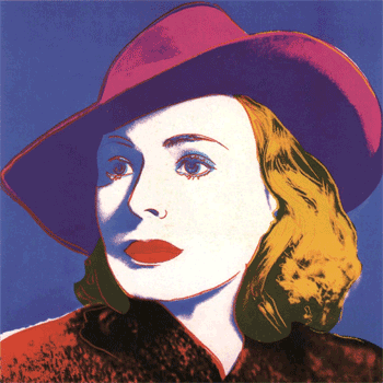 Ingrid by Andy Warhol