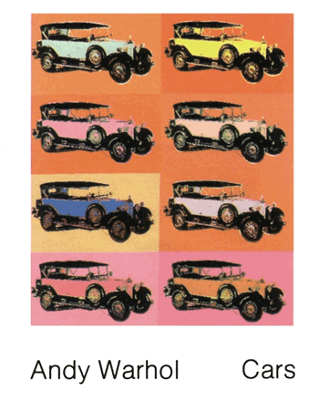 Mercedes by Andy Warhol