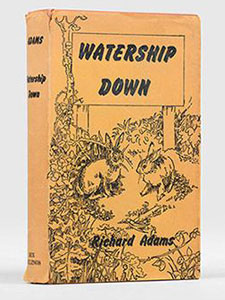 First Edition of Watership Down by Richard Adams