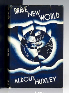 First Edition of Brave New World by Aldous Huxley