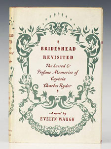 First Edition of Brideshead Revisited by Evelyn Waugh