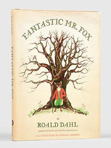 First Edition of Fantastic Mr. Fox by Roald Dahl