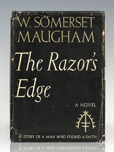 First Edition of The Razor's Edge by W. Somerset Maugham