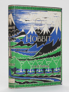 First Edition of The Hobbit by J.R.R. Tolkien