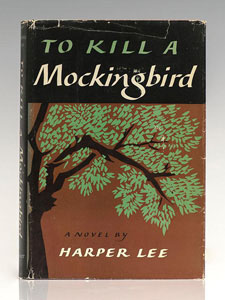 First Edition of To Kill a Mockingbird by Harper Lee