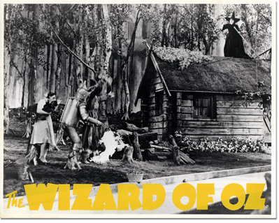 Wizard of Oz reissue Lobby Card
