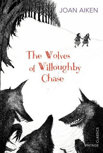 Bonnie and Sylvia from The Wolves of Willoughby Chase by Joan Aiken