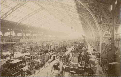 Galerie des machines, also known as Salle des Machines