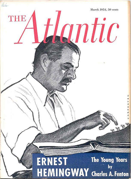 1954 edition of The Atlantic Monthly