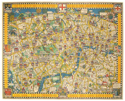 The Wonderground Map of London Town