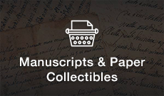 Shop Manuscripts & Paper Collectibles