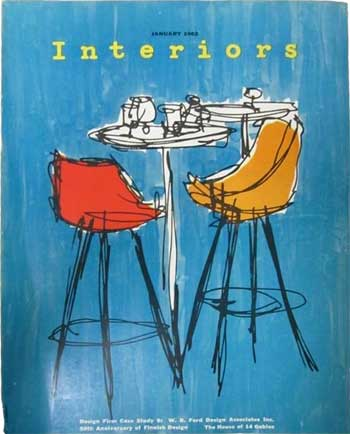 Interiors Magazine - January 1962