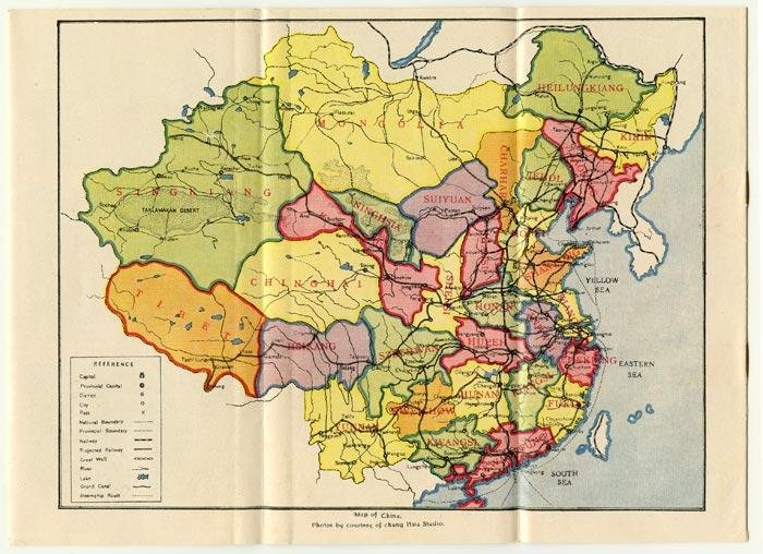 Map Of China With Latitude And Longitude.The Latitude Longitude Of Collectible Maps