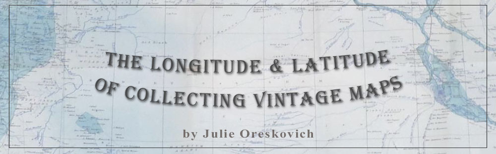 The Latitude & Longitude of Collectible Maps