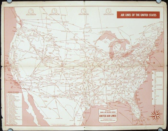 Air Lines of the United States 1947