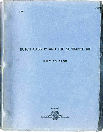 Screenplay: Butch Cassidy and the Sundance Kid