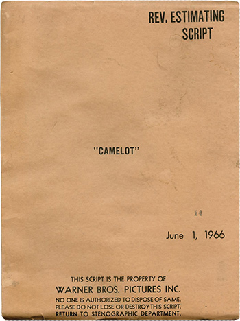 Screenplay: Camelot