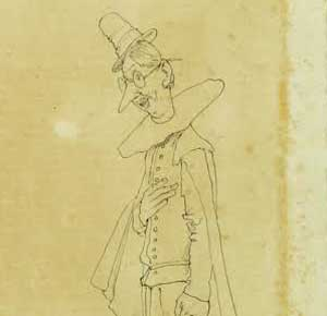 William Heath Robinson, self-portrait