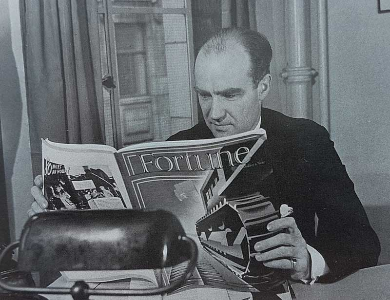 Henry Luce, publisher of Fortune Magazine