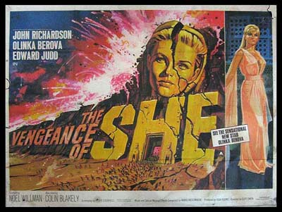 The Vengence of She - 1968