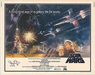 Star Wars - Authentic Original Movie Poster