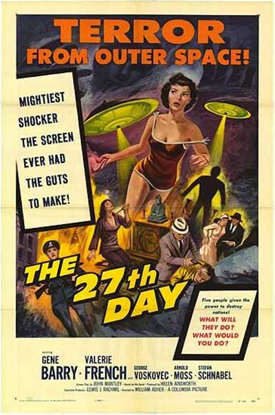 The 27th Day - 1957