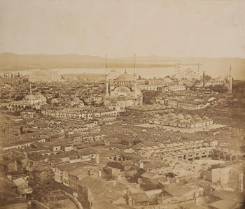 Five photos of Constantinople in 1853.