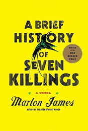 A Brief History of Seven Killings, signed by Marlon James