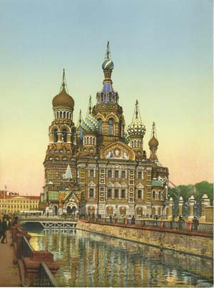Church of Our Savior, St Petersburg