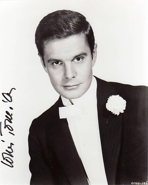 Autogramm Louis Jourdan