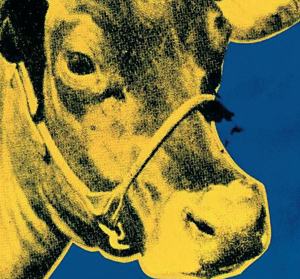 Andy Warhol obras: Cow