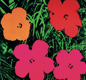 Andy Warhol obras: Flowers
