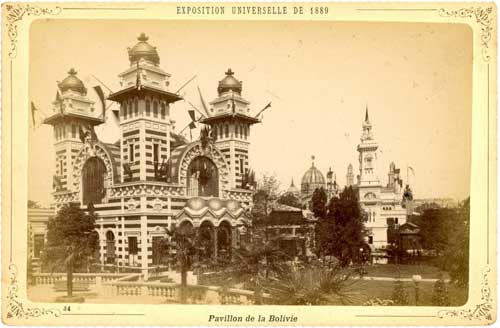 Pavillon de la Bolivie