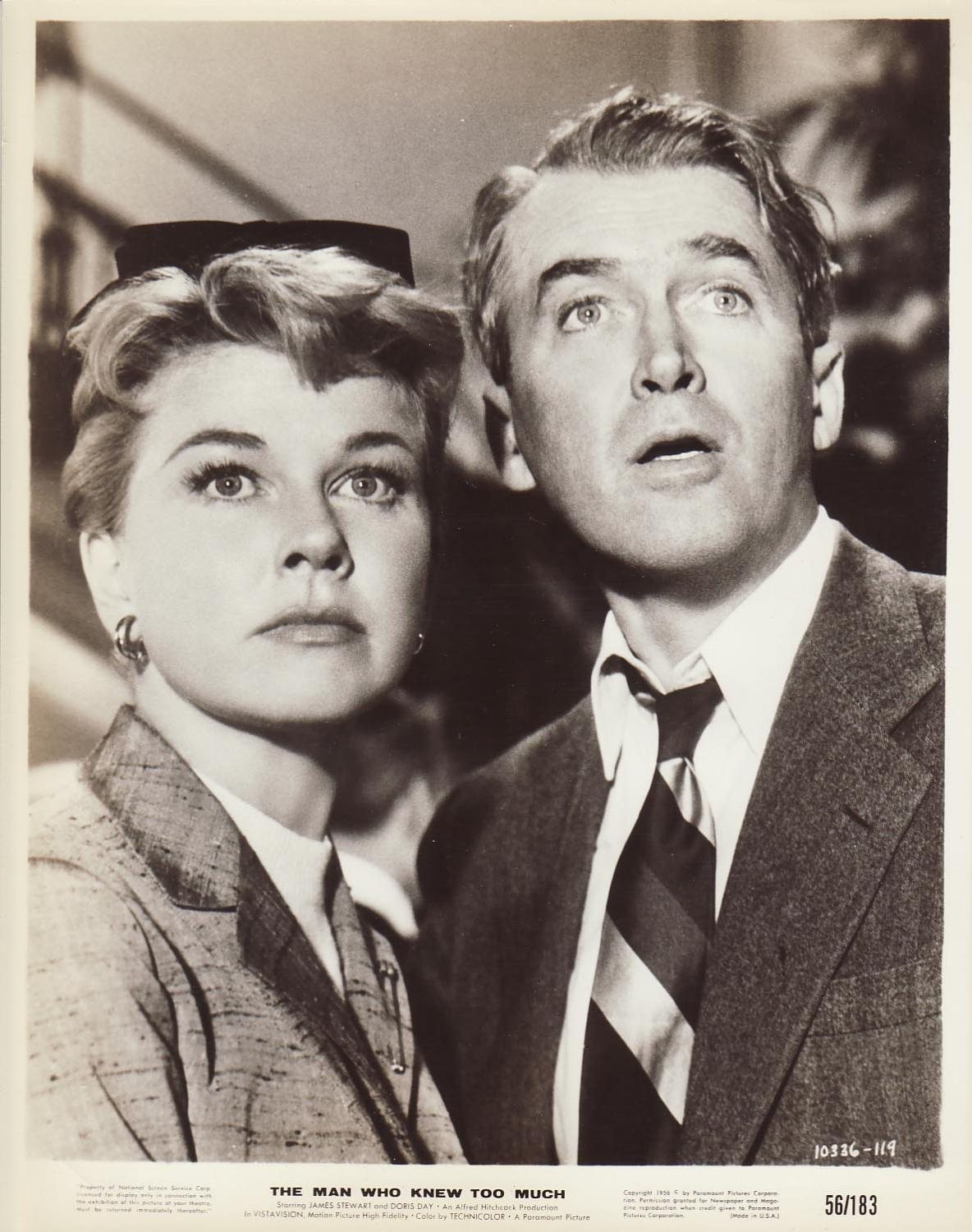 Doris Day et James Stewart