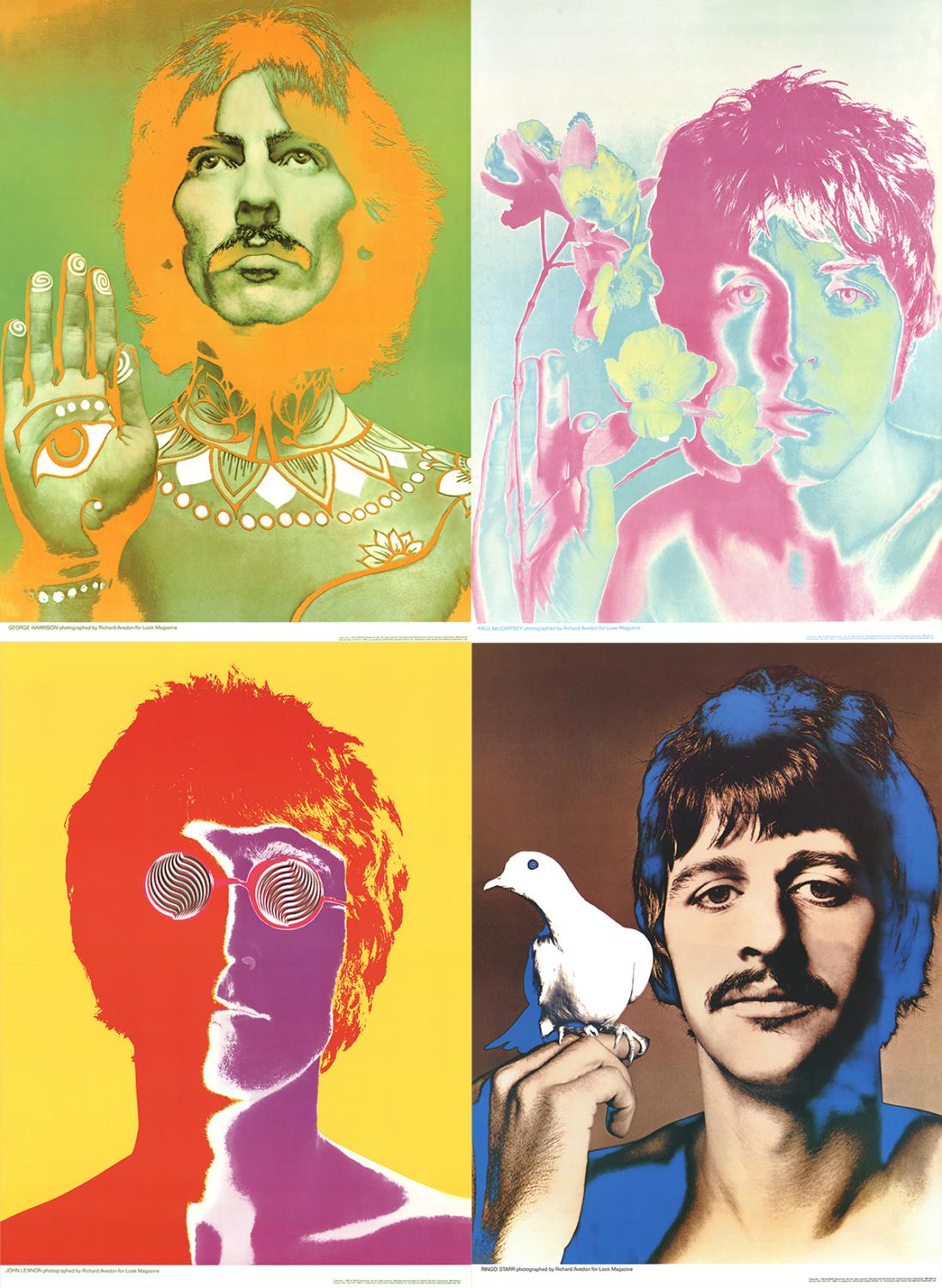 Poster des Beatles