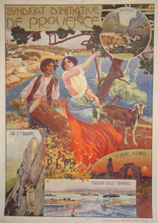 Affiche PLM - Syndicat d'initiative de Provence
