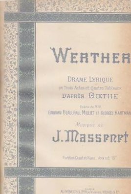 Massenet, Werther