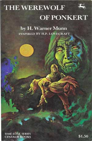 The Werewolf of Ponkert by H. Warner Munn