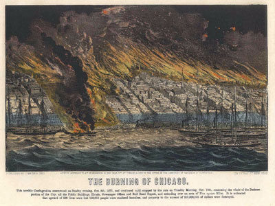 The Burning of Chicago