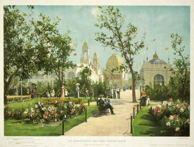The World's Columbian Exposition, Collection of 8 Color Lithographs.