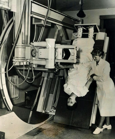 Vintage Photograph, X-Ray Unit