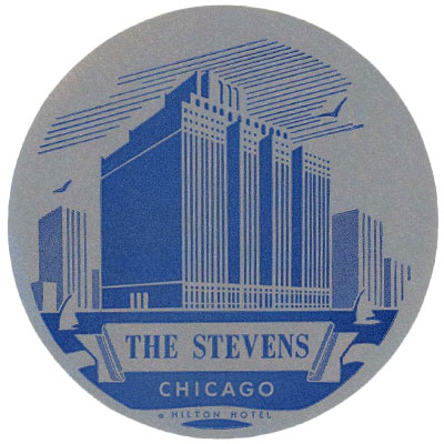 Luggage Label from The Stevens