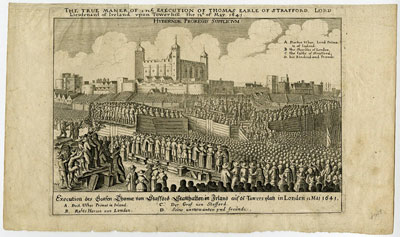 Execution of Thomas Earle of Strafford