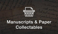 Shop Manuscripts & Paper Collectables