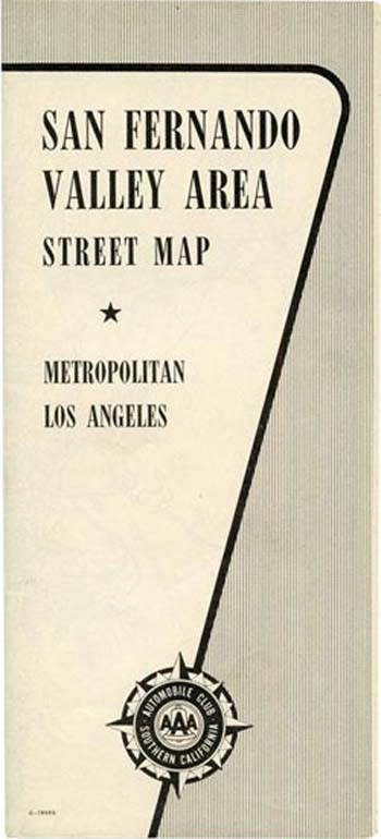 San Fernando Valley Street Map
