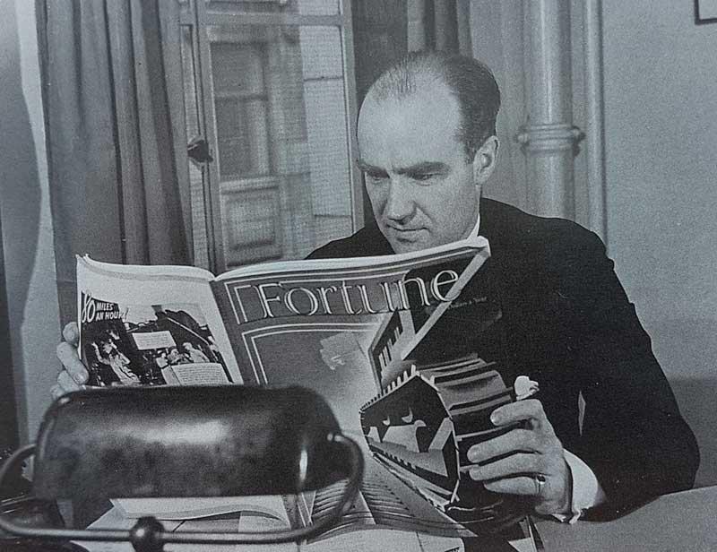 Henry Luce, publisher of Fortune Magazine