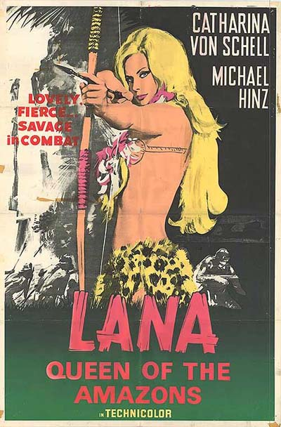Lana Queen of the Amazons - 1947